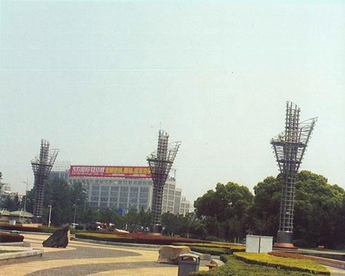 太湖广场灯架