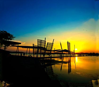 吴江太湖不锈钢风帆