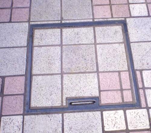防盗窨井盖板