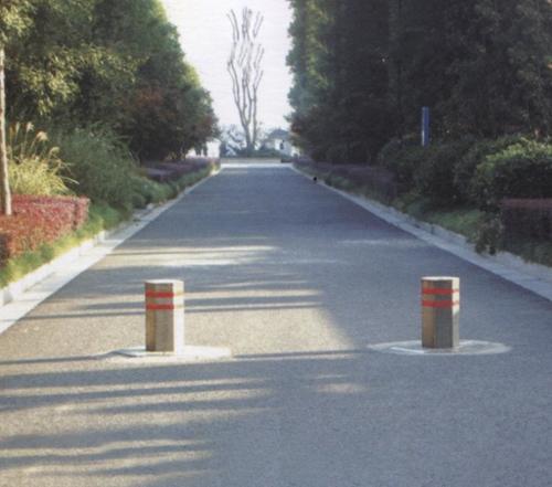 吴江宝界公园升降挡车柱